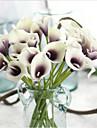 5 Une succursale Contact reel Calla Lily Fleur de Table Fleurs artificielles
