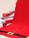 4st glada röd jul handduk snöflinga träd mikro bad dusch handduk hem partitillförsel