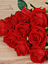 1 1 Une succursale Polyester Roses Fleur de Table Fleurs artificielles 51cm