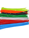 100pcs / bag fasten fil autobloquant cable 4x200mm cable de nylon attaches wrap
