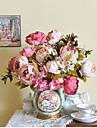 """1 Bunch 1 Gren Silke / Styrofoam Pioner Bordsblomma Konstgjorda blommor Total Length:19"""""""