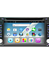 android 4.4 6.2 polegadas no painel do carro dvd player multi-touch capacitiva com Wi-Fi, GPS, RDS, BT, toque, tela