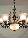 Lampe suspendue ,  Traditionnel/Classique Peintures Fonctionnalite for Style mini CoquilleSalle de sejour Chambre a coucher Salle a