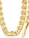 Set bijuterii Placat cu platină Placat Auriu La modă Auriu Alb Colier / bratara Nuntă Petrecere Halloween Zilnic Casual 1setColiere