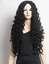 Perruques naturelles Perruques pour femmes Noir Perruques de Costume Perruques de Cosplay