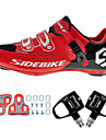 BOODUN/SIDEBIKE® Sneakers Skor för vägcykel Cykelskor Cykelskor med pedaler och klossar Unisex Stötdämpande Ultra Lätt (UL) Vägcykling