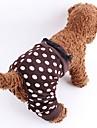 Hundar Byxa Brun / Leopard Hundkläder Sommar / Vår/Höst Prickiga Mode
