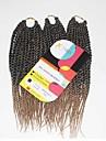 Senegal twist Flätor Hårförlängningar 12Inch Kanekalon 81 Strands Strå 125g gram Hair Braids