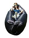 Fuktighetsskyddad Vattentät Kompression Bekväm Uppblåsbar Madrass Uppblåsbar soffa Grön Svart Blå Camping Strand ResaVår Sommar Höst