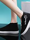 Damă Adidași Confortabili Pânză Primăvară Toamnă Casual Plimbare Confortabili Toc Plat Alb Negru Rosu Plat