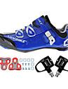 Chaussures Velo / Chaussures de Cyclisme Unisexe Exterieur / Velo de Route Baskets Amortissement / Coussin Bleu-sidebike