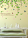 Floral / Copaci/Frunze / Art Deco Imagine de Fundal Pentru acasă Contemporan Placare a peretilor , PVC/Vinil Material adeziv necesar mural