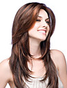 premierwigs mode Lace Front perruques couleur naturelle bresilienne sans colle vierge pleine de base de soie des perruques droite