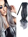 bande melange noir granny gris vague de corps de 22 pouces en extension de cheveux synthetiques
