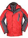 Homme Anorak 3 en 1 Veste d\'Hiver Camping / Randonnee Escalade Sport de detente Sports de neige SnowboardEtanche Garder au chaud