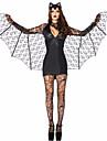 Cosplay Kostymer/Dräkter Festklädsel Maskerad Bats Vampyr Festival/högtid Halloweenkostymer svart Enfärgat Klänning Mer accessoarer