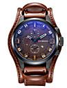 CURREN Bărbați Ceas Sport Ceas Militar Ceas Elegant Ceas La Modă Ceas de Mână Quartz Quartz Japonez Calendar Piele BandăVintage Cool