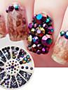 1SET Nail Art Decoration strass Perles Maquillage cosmetique Nail Art Design