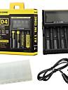 Nitecore® D4 Lampes de poche Accessoires Chargeurs Elegant Affichage de l\'alimentation Usage quotidien
