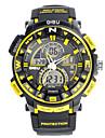 Bărbați Ceas Sport Ceas Militar Ceas Smart Ceas La Modă Ceas de Mână Piloane de Menținut Carnea Quartz JaponezLED Cronograf Rezistent la