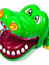Jeu de Plateau Gadget pour Blague Loisirs Nouveautes Crocodile ABS Vert Pour Garcons Pour Filles