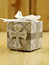 Wedding gifts 12 Piece/Set Cross Favor Holder-Cubic Card Paper Favor Boxes / Gift Boxes