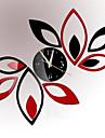 Moderne/Contemporain / Bureau / Affaires Niches / Famille / Ecole/Diplome / Amis Horloge murale,Nouveaute Verre / Plastique 60CM/23.6inch