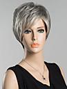 courtes perruques droites humains de cheveux naturels pour les femmes