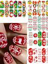 1SET Nail Sticker Art Autocollants 3D pour ongles Maquillage cosmetique Nail Art Design