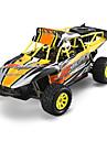 Buggy WLToys K929-B 1:18 Borste elektrisk RC Bil 2.4G Orange Färdig att köra