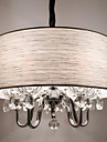 Lampe suspendue ,  Contemporain Plaque Fonctionnalite for Cristal Designers MetalSalle de sejour Chambre a coucher Salle a manger