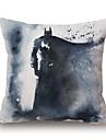 1 pcs Polyester Housse de coussin,Imprimes Photos Moderne/Contemporain / Decoratif