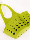 2pc couleur aleatoire originale canal panier de l\'eau culinaire accepte etagere des produits de base