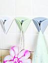 facile d\'installer le porte-serviettes de the de tissu de ventouse en caoutchouc de porte-serviette poussoir en caoutchouc crochet couleur