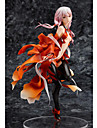 Guilty Crown Inori Yuzuriha PVC 20cm Anime Actionfigurer Modell Leksaker doll Toy