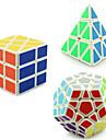 Yongjun® Mjuk hastighetskub Pyraminx Alien Megaminx professionell nivå Lindrar stress Magiska kuber Ivory slät klistermärke /Anti-pop