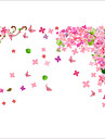 Romance / Mode / Floral Stickers muraux Stickers avion Stickers muraux decoratifs / Stickers mariage,PVC MaterielLavable / Amovible /