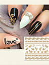 1 Sticker Manucure  Autocollants 3D pour ongles Maquillage cosmetique Manucure Design