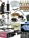 Ophir komplett tatuering kit 2 maskin strömförsörjning bläcknål set 12 färg motorutrustning 12 bläcksats