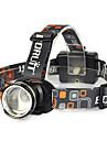 Eclairage Lampes Frontales Eclairage securite velo / Ecarteur de danger Sangle de Lampe Frontale LED 10000 Lumens 1 Mode Cree XM-L T6