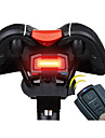 Lampe Arriere de Velo LED Cyclisme Telecommande Ultra leger penggera Elegant Pile au Lithium 100 Lumens Batterie Rouge Cyclisme