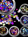 1bottle Nail Art Decoration Rhinestone Pearls make-up Cosmetische Nail Art Design