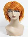 35cm courte orange, le prince du tennis-wakato hiroshi perruque cosplay hommes synthetiques anime parti perruque