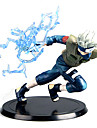 Anime Actionfigurer Inspirerad av Naruto Hatake Kakashi Animé Cosplay Accessoarer figur Blå PVC