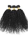 3 Pieces Kinky Curly Tissages de cheveux humains Cheveux Indiens 100g per bundle 8inch-28inch Extensions de cheveux humains