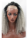 gris ombre perruques synthetiques resistantes a la chaleur boucles dentelle perruque crepus glueless avant de dentelle perruque