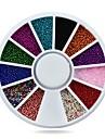 1pcs Manucure De oration strass Perles Maquillage cosmetique Manucure Design