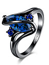 Dame Inel Cristal Zirconiu Cubic bijuterii de lux Oțel Bijuterii Pentru Petrecere Halloween Zilnic