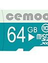 CEMOO 64GB Micro SD-kort TF-kort minneskort class10