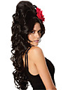 resistant a la couleur naturelle synthetique cosplay cheveux parti perruque longue de chaleur nouvelle mode des perruques synthetiques